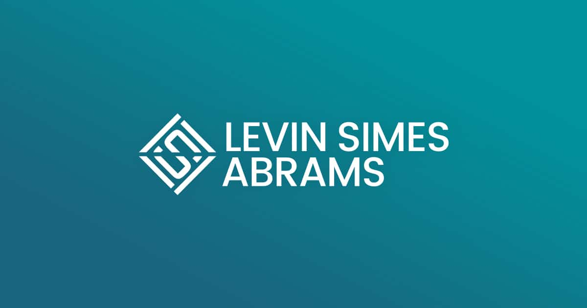 Levin Simes Abrams - Vape, JUUL and Rideshare lawyer